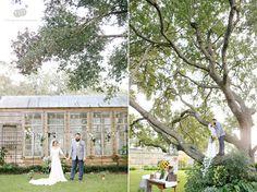 amy   shawn | intimate backyard diy wedding | pearland texas | bride and groom portraits