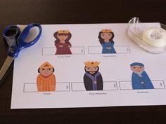 Purim Finger Puppets Supplies
