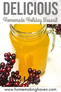 Need a yummy holiday drink to spice up your fall and winter holidays? Here's my all time favorite wassail recipe. It's easy to make and DELICIOUS to boot. #homemadewassail #russiantea #holidayrecipes