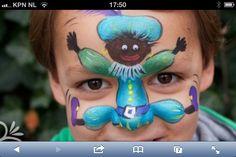 Schminken feestdagen / Face paint holidays Henna Paint, Saint Nicolas, Face Art, Face And Body, Body Painting, Body Art, Robin, Projects, Kids