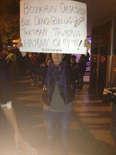 Bu da Ankara pankartı