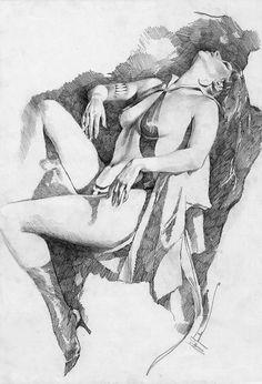 Vampirella by Jose Gonzalez