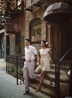 new york city engagement photos nyc
