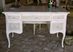 french provincial furniture | French Provincial Writing Desk I discovered it was called.