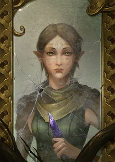 Merrill by *sandara on deviantART...If you don't know where this comes from then our friendship is in peril.
