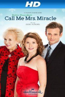 Debbie Macomber's Call Me Mrs. Miracle/Miracle in Manhattan, Hallmark, Doris Roberts, Jewel Staite, Eric Johnson. Xmas Movies, Hallmark Christmas Movies, Hallmark Movies, Great Movies, Holiday Movies, Christmas Books, Christmas Music, Christmas Ideas, Hallmark Channel