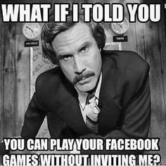 What if I told you that you could play fb games without inviting me