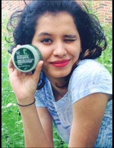 Reduces redness and spots. Great for blemished skin. Model: Sana Yesudas,  Photo Credit: Gayatri Dalal #mkm915 #thebodyshop #teatreefacemask