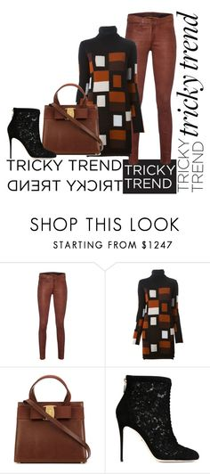 """""""Untitled #488"""" by diananicoleparsons ❤ liked on Polyvore featuring rag & bone, Fendi and Dolce&Gabbana"""