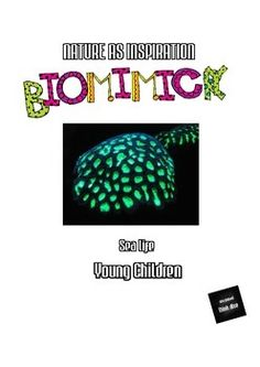 BIOMIMICRY FOR YOUNG CHILDREN - SEA LIFE - TeachersPayTeachers.com Lessons about biomimicry require a brave approach to teaching since there is a move away from an approach where teachers are asking questions and looking for quick answers. Instead young learners are given an opportunity to shape and explore their own ideas. Biomimicry and bioinspiration are constantly evolving and new ideas are explored to solve problems and designing innovations.