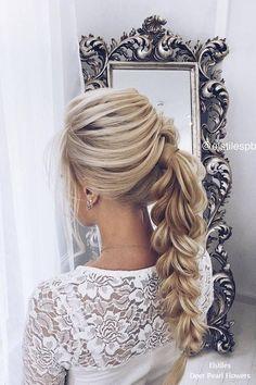 Elstiles long wedding hairstyles for bride #weddings #hairstyles #bridalhairtsyles #weddinghairstyles #fashion ❤️ http://www.deerpearlflowers.com/long-wedding-hairstyles-for-bride-from-elstiles/