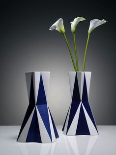 Vase: Designed by Vlastislav Hofman (1914 - 1920)