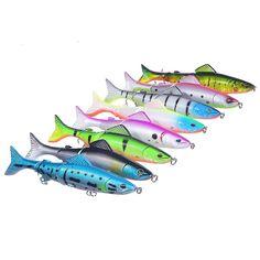 Sale 18% (10.82$) - Proberos 8 PCS 12.7cm Minnow Bait Fishing Lure Bait With Fishing Tackles