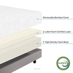 LUCID 10 Inch Latex Foam Mattress – Ventilated Latex and CertiPUR-US Certified Foam – 25-Year Warranty – Cal King  http://www.furnituressale.com/lucid-10-inch-latex-foam-mattress-ventilated-latex-and-certipur-us-certified-foam-25-year-warranty-cal-king/