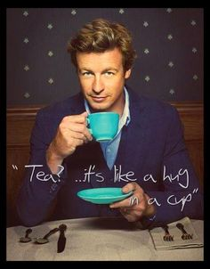 Simon Baker  ~The Mentalist - This cute guy hails from my home town in Tasmania, Australia