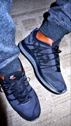 """Nike Lunar Flyknit x Supreme """"Black"""""""