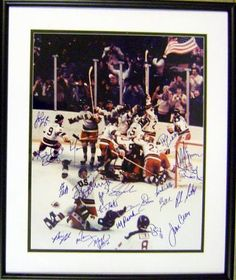 I want this.  Signed photo of 1980 Miracle on Ice