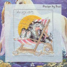 Margaret Sherry: Calendar Cats (August)