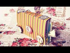 Tarjeta Explosiva // Explosion Card - Scrapbook [Especial San Valentín 2016] - YouTube