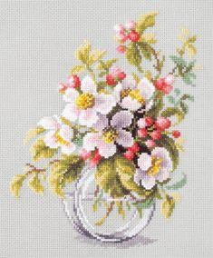 Counted Cross Stitch Kit MARYA ISKUSNITSA PARADISE APPLES