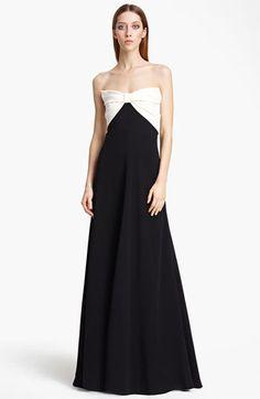 b12fae8b0c7 Valentino Bow Bodice Dress  4
