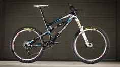 The Lapierre Spicy's already a favourite with the European all-mountain/enduro crew and the 2013 version looks even better. Picture by Sebas...