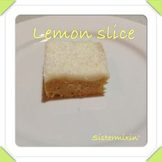 This lemon slice is very easy and super tasty. There are only a few simple steps to create it and it will freeze well (iced and all). You can find our Basic Icing Recipe here. We would love to kno. Tasty, Yummy Food, Lemon Slice, Icing Recipe, High Tea, Tray Bakes, Sweet Tooth, Sweet Treats, Cooking Recipes