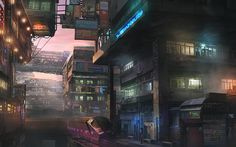 Cyberpunk City Wallpaper in the best available resolution. Cyberpunk City, Futuristic City, Cyberpunk 2077, Sf Wallpaper, Wallpaper Backgrounds, Blade Runner, Sci Fi Stadt, Space Opera, Fantasy City