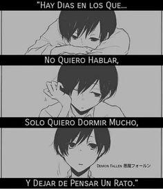 Un rato largo. Sad Anime, Anime Love, Kawaii Anime, True Quotes, Qoutes, Anime Triste, I Hate My Life, Shinigami, Sad Love