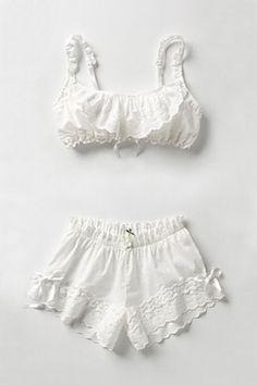 cb2abc45261 such cute undergarments pajamas! Vintage Lingerie