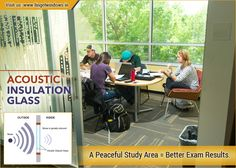 Noise Comes Through Your Windows, Now Replace Them with Acoustic Insulation Glass and Concentrate on Your Study