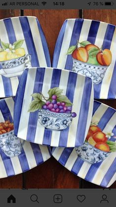 Dessert Plates, Dinner Plates, China Clay, Cup Art, China Painting, China Patterns, Fabric Painting, Decoupage, Projects To Try