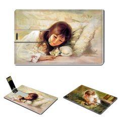 Children And Childhood, Kids Art, Painting, USB flash drive 16GB, credit card size by woocoo, http://www.amazon.com/dp/B00BZFNVZU/ref=cm_sw_r_pi_dp_BHhArb1EEGM09