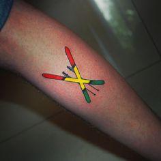 http://tattooideas247.com/wp-content/uploads/2014/05/Skiers-Dream.jpg Skier's Dream #Freestyle, #Rasta, #Ski, #SkiersDream, #Skiing