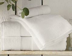 Basic White Bath Towels, Anyone? | Design Trends | Decorate | Home & Garden
