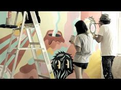 Creating an ORGNL mural with Jeremyville