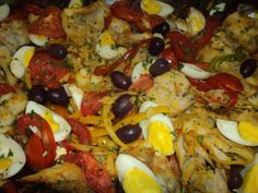 Fruit Salad, Cobb Salad, Easter Dinner, Vegetable Pizza, Cooking Recipes, Meals, Vegetables, Breakfast, Food