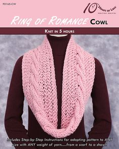 Ring of Romance neck cowl [knit in 5 hours]