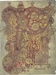 The Book Of Kells on display at Trinity College in Dublin,Ireland. I was priveleged to see this firsthand.