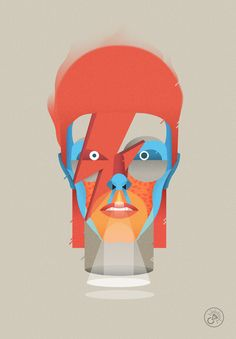 Homenaje ilustrado a David Bowie - Cosmic Lab