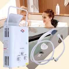 6L Portable Tankless Instant On Demand Propane LP Gas Hot Water Heater System CE #notapplicable Tankless Hot Water Heater, Water Heaters, Catering Trailer, Low Water Pressure, Vanity Countertop, Vessel Sink Bathroom, Boiler, Save Energy, Home Appliances