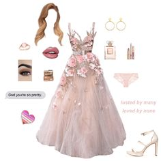 Prom Pretty In Pink created by clone on ShopLook.io perfect for Party. Visit us to shop this look. night out, Season Style, Round, 18 Elegant Dresses, Pretty Dresses, Beautiful Dresses, Gala Dresses, Homecoming Dresses, Pink Outfits, Classy Outfits, Kpop Fashion Outfits, Fashion Dresses