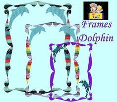 Summer - Frames - Dolphin - Clip Art - Personal or Commercial UseThese fun frames will look fantastic in your classroom!This beautiful clip art set will be delivered to you in transparent PNG file format via a .zip file. Each element has been saved as a high quality .PNG file.The zip file contains: 15 color 300 dpi PNG filesThanks for stopping by!New products are 50% off during first 24 hours of posting!