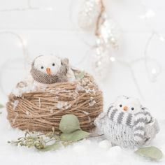 Learn some diy styling tips with these adorable bird ornaments!