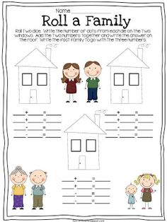 Family | Students will be able to create their own fact families after learning what a fact family is.