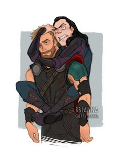briannacherrygarcia: Thor: Yah I dont care what you do Loki...