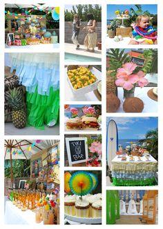 Vintage Hawaiian Party