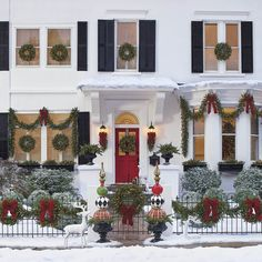 If you like Front Porches Farmhouse Christmas Decorations Ideas lets read more and see our pins. I think its best of list for Front Porches Farmhouse Christmas Decorations Ideas Christmas Front Doors, Christmas Porch, Outdoor Christmas Decorations, Christmas Holidays, Christmas Wreaths, Christmas Budget, Christmas Lights Outside, Christmas Greenery, Woodland Christmas