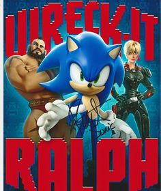 Roger Craig Smith as Sonic in Wreck It Ralph