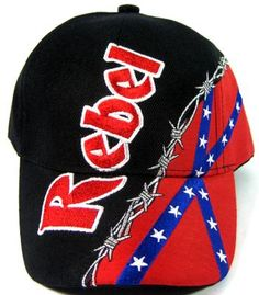 One of our best sellers this hat features a barbed wire design along with  the confederate battle flag we all know and love. We re an online and brick  and ... f774cdafd20a